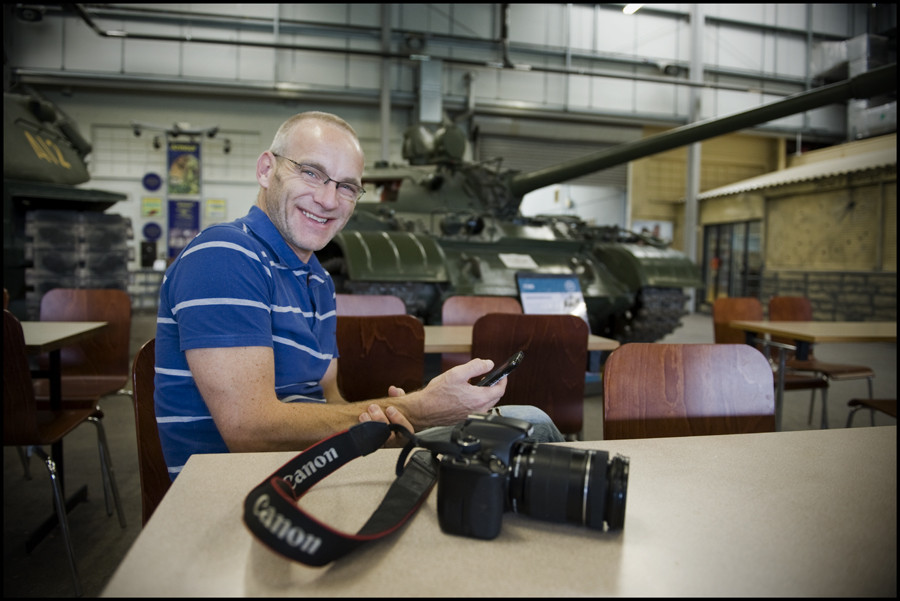 Mark at Bovington Tank Museum