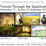 Travels Through the Spectrum - My Exhibition