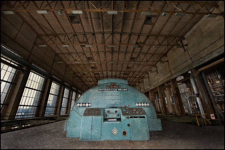 ECVB – Abandoned Belgian Powerplant
